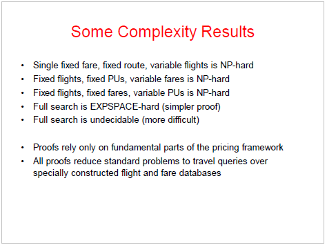 Complexity of Air Search