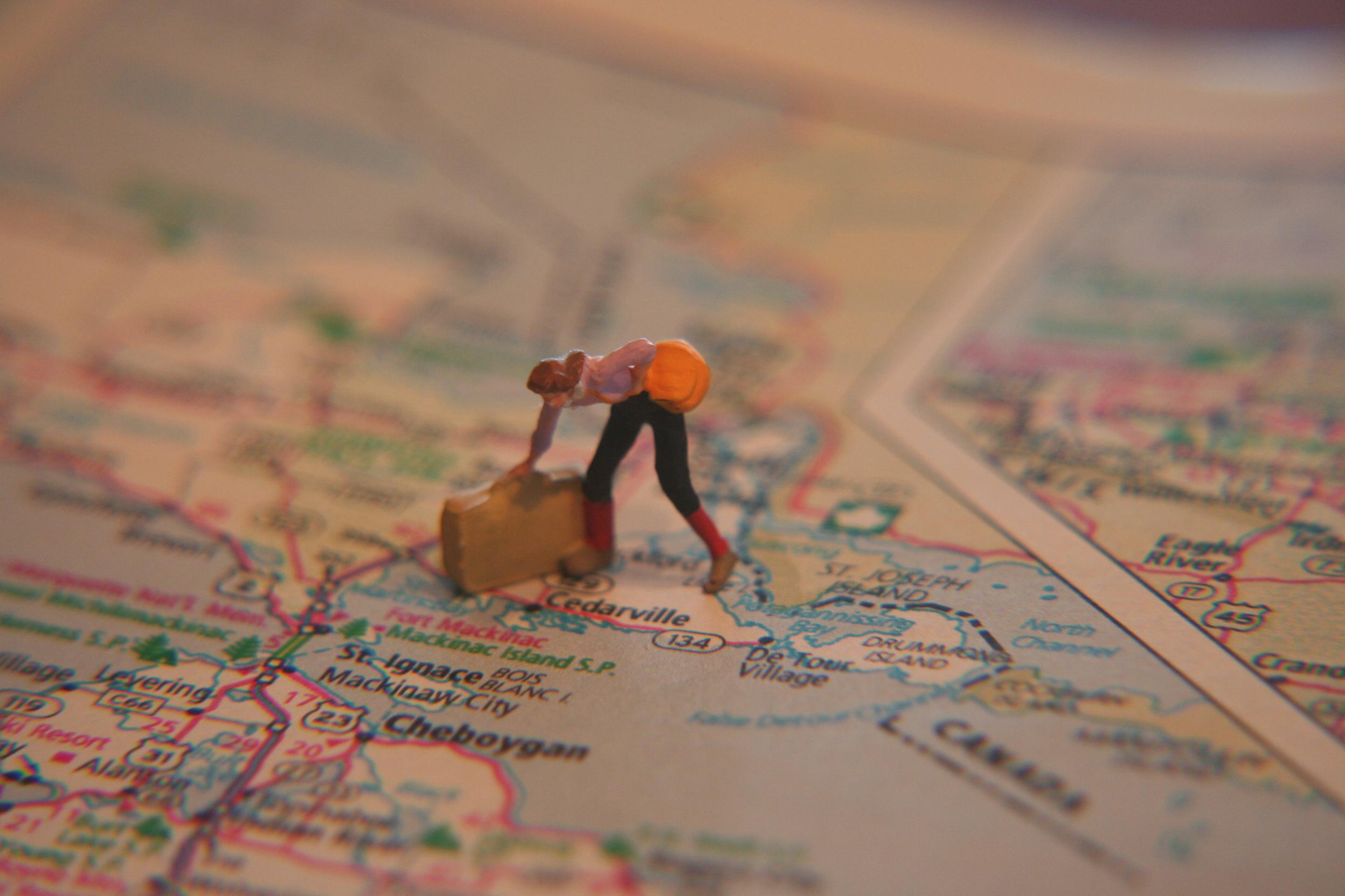 보다 자유로운 여행 계획을 세울 수 있게 해주는 항공여정, 오픈조(Open jaw)