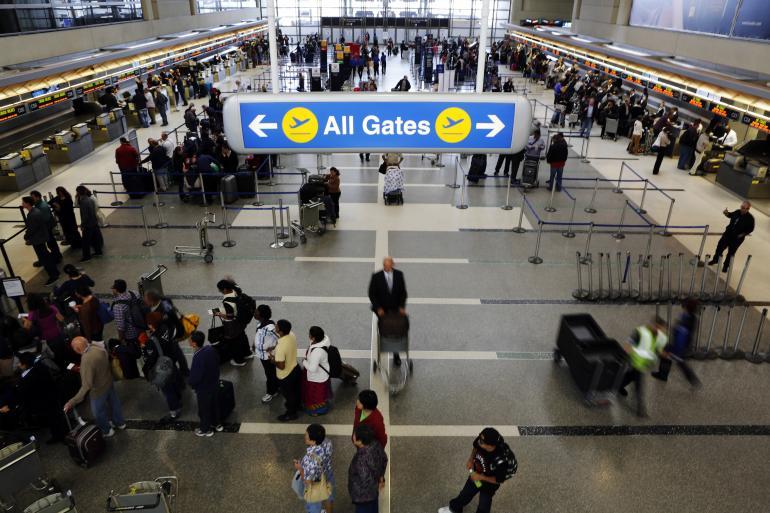 미국 내 항공편 환승, 시간여유가 없으면 낭패본다?